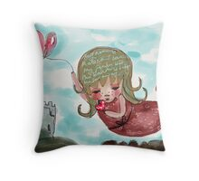 'My Name is Malena' by Beatrice Ajayi, IPad art Throw Pillow