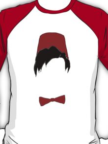 Eleventh doctor fez and bowtie T-Shirt