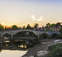 Aylesford Village by Ian Hufton