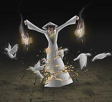 Faith, The Dove Lady by Jameshorner