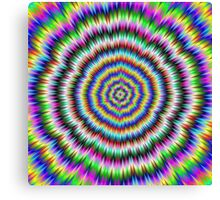 eye boggling psychedelic Canvas Print
