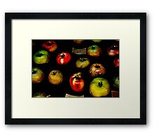 Apples apples apples Framed Print