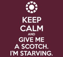 KEEP CALM and give me a scotch. I'm starving. by Golubaja