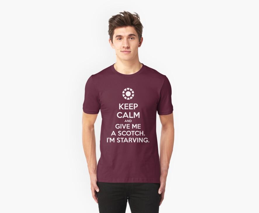 KEEP CALM and give me a scotch. I'm starving. by Golubaja
