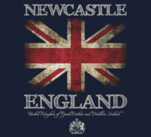 Newcastle England UK Flag by FlagTown
