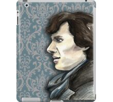 Sherlock Profile iPad Case/Skin