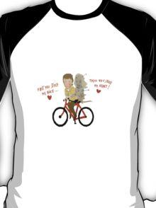 the walking dead heart/bike T-Shirt