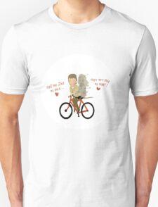 the walking heart/bike Unisex T-Shirt