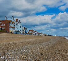 Aldeburgh Beach View by Chris Thaxter