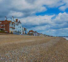 Aldeburgh Beach View by Chris Thaxter