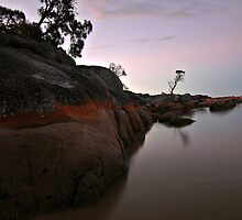 Binalong Bay Sunset 2 by Kylie Reid