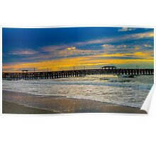 Myrtle Beach Morning  Poster