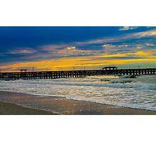 Myrtle Beach Morning  Photographic Print