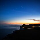 belle tout at dusk by James Calvey