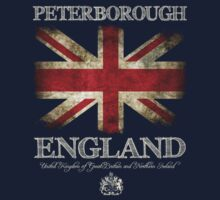 Peterborough England UK Flag by FlagTown