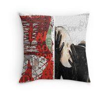 Incarnata Diptych #13 Throw Pillow