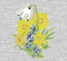 SPRING CORNUCOPIA TEE SHIRT/ BABY GROW, Kids Clothes