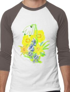 SPRING CORNUCOPIA TEE SHIRT/ BABY GROW, Men's Baseball ¾ T-Shirt