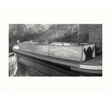 Narrow boat Art Print