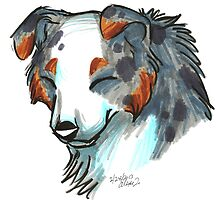 Brush Breeds-Australian Shepherd by Alexa H.J.