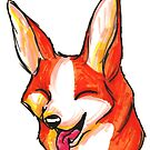 Brush Breeds-Pembroke Welsh Corgi by Alexa H.J.