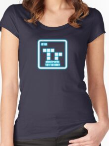 Electronic Element V2 Women's Fitted Scoop T-Shirt