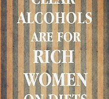Clear Alcohols by nimbusnought