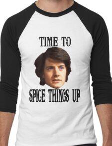 Spice Things Up Men's Baseball ¾ T-Shirt
