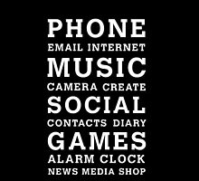 PHONE - MUSIC - SOCIAL - GAMES by Dammo