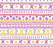 India Pattern by Ellen Stubbings