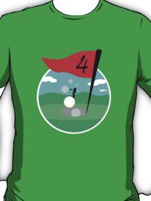 Design 10: Golfer Logo T-Shirt