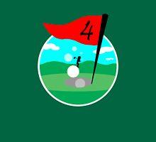Design 10: Golfer Logo Unisex T-Shirt