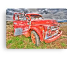 Rusty Dodge Pickup Truck Canvas Print