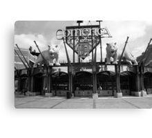 Comerica Park - Detroit Tigers Canvas Print