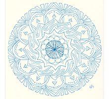 Dandelion Mandala Photographic Print