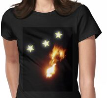 Design 13: Fire of Orion Womens Fitted T-Shirt