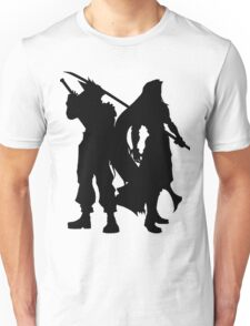 Cloud & Sephiroth Silhouettes Unisex T-Shirt