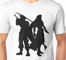 Cloud & Sephiroth Silhouettes Unisex T-Shirt