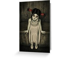 Charlotte - The Gothic Doll Greeting Card