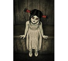 Charlotte - The Gothic Doll Photographic Print