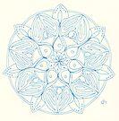 Pearls Mandala by Daniel ML