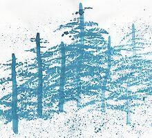 Winter Trees by Daniel ML