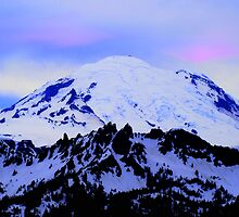 Mt Rainier from Chinook by Tori Snow