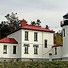 """Admirality Head Light Station"" by Lynn Bawden"