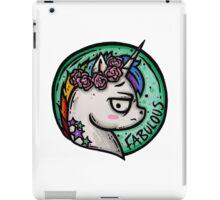 Fabulous! iPad Case/Skin