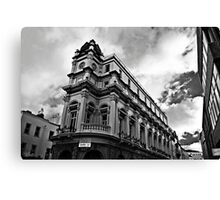 Bank Building Canvas Print