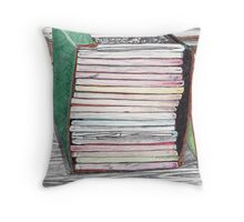 Composition Notebooks 3 of 4 Throw Pillow