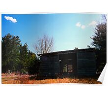 Old Storage Shed Poster