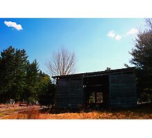 Old Storage Shed Photographic Print