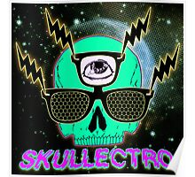 Skullectro Poster